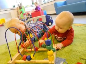 Babyopvang bij de Poppenkast in Egmond aan den Hoef